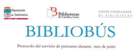 Bibliobús en junio