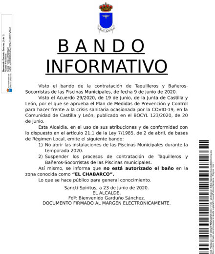 Bando Informativo
