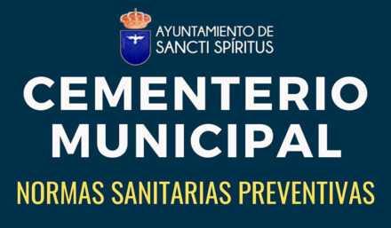 CEMENTERIO MUNICIPAL – Normas Sanitarias Preventivas