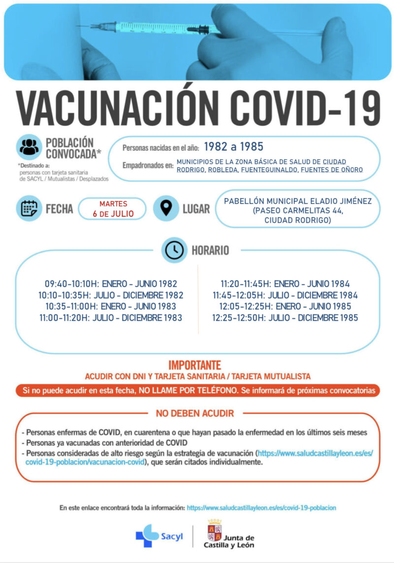 Vacunación COVID 19